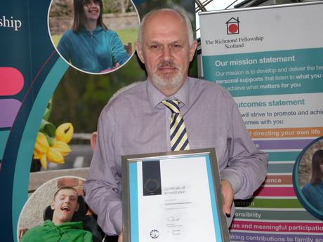 Austen with IIP Silver Award
